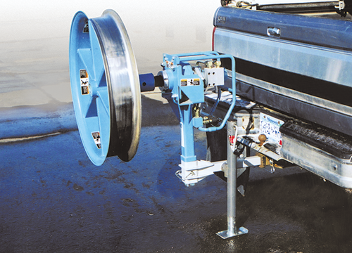 Fiber Optic Cable Puller Hitch Mount