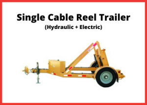 FS3 - Single Reel Trailer - ELECTRIC