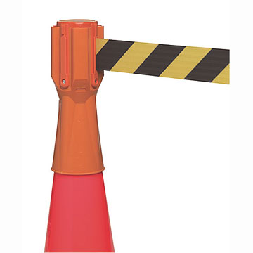 Cone Mount Retractable Barrier